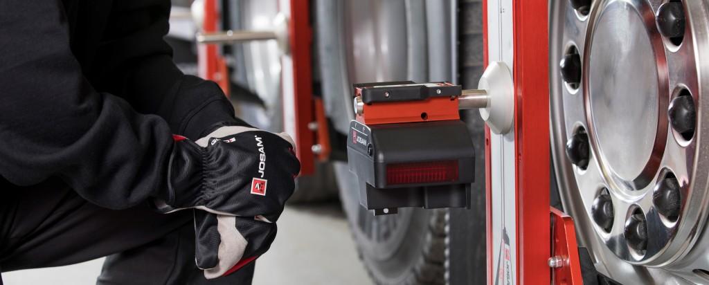 Udmålingssystem til lastbiler 6×2