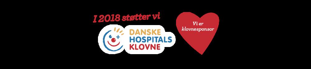 Olego A/S er stolt klovnesponsor – Danske hospitalsklovne